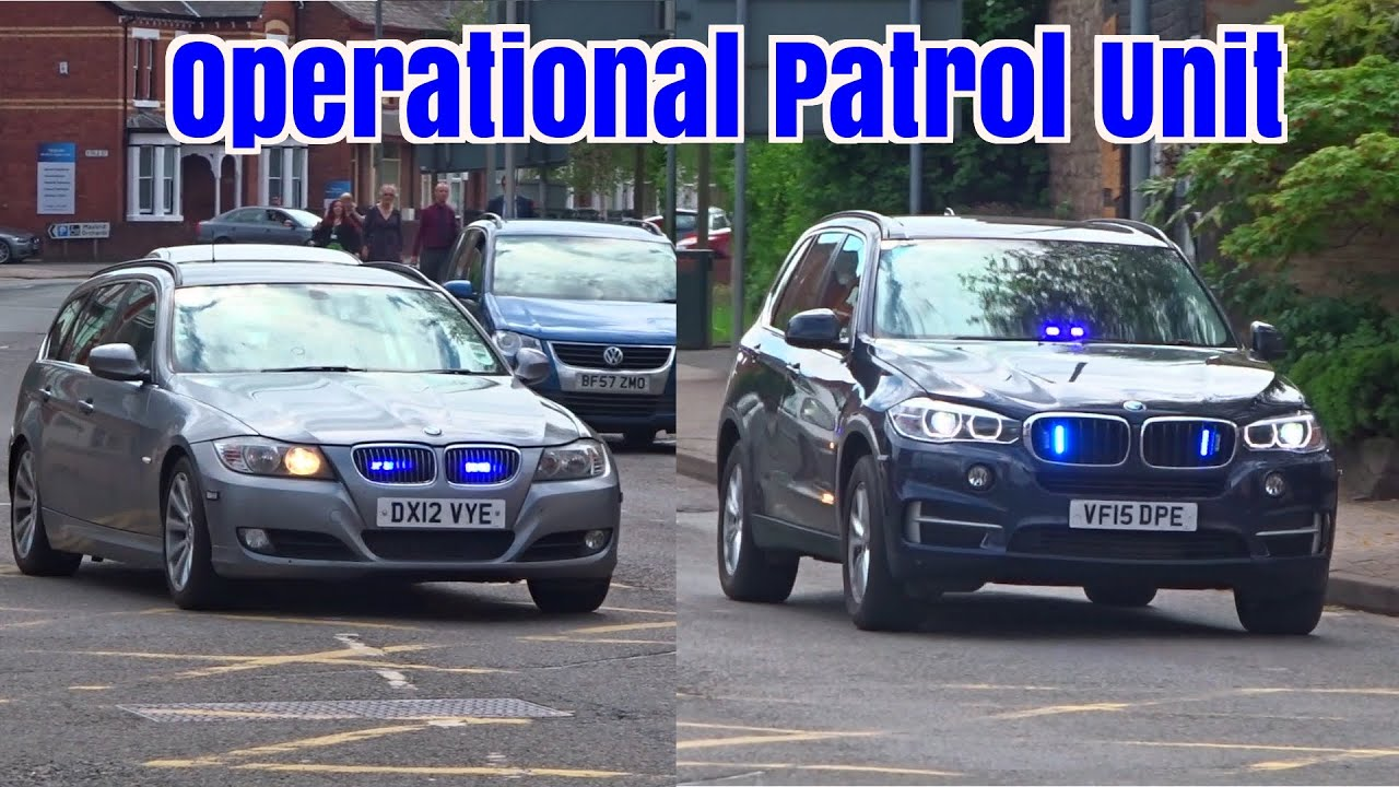 Unmarked Police Cars Responding X2 Armed Police Bmw X5 330d