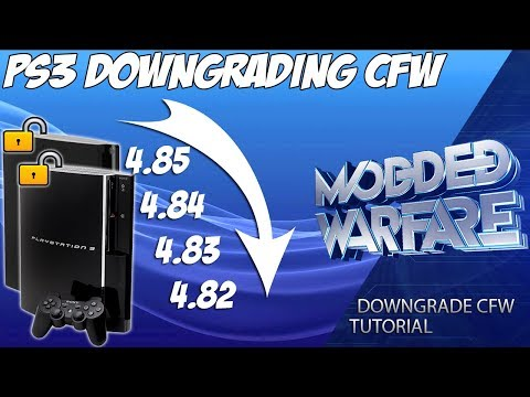 (EP 10) How To Downgrade PS3 CFW