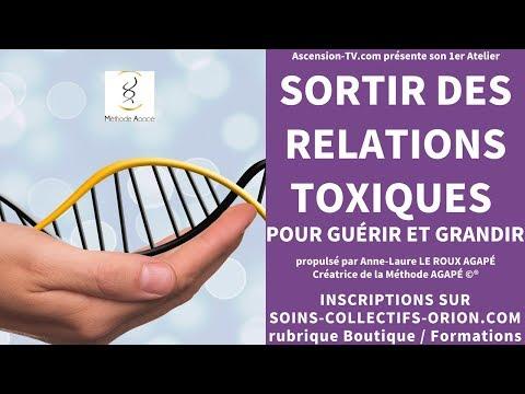 [BANDE ANNONCE] Atelier : Sortir des relations toxiques pour guérir et grandir avec Anne-Laure AGAPÉ