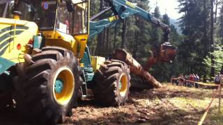 Asturforesta 2015 - Demonstração Skidder HSM 904 ZL_3