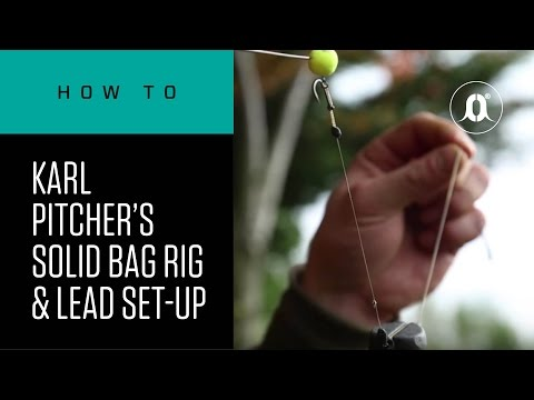 CARPologyTV - Karl Pitcher's Solid Bag Rig And Lead Set-up