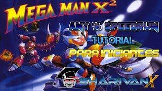 Tutorial de speedrun de Mega Man X2 para iniciantes - Parte 1 - Live #382 Parte 1