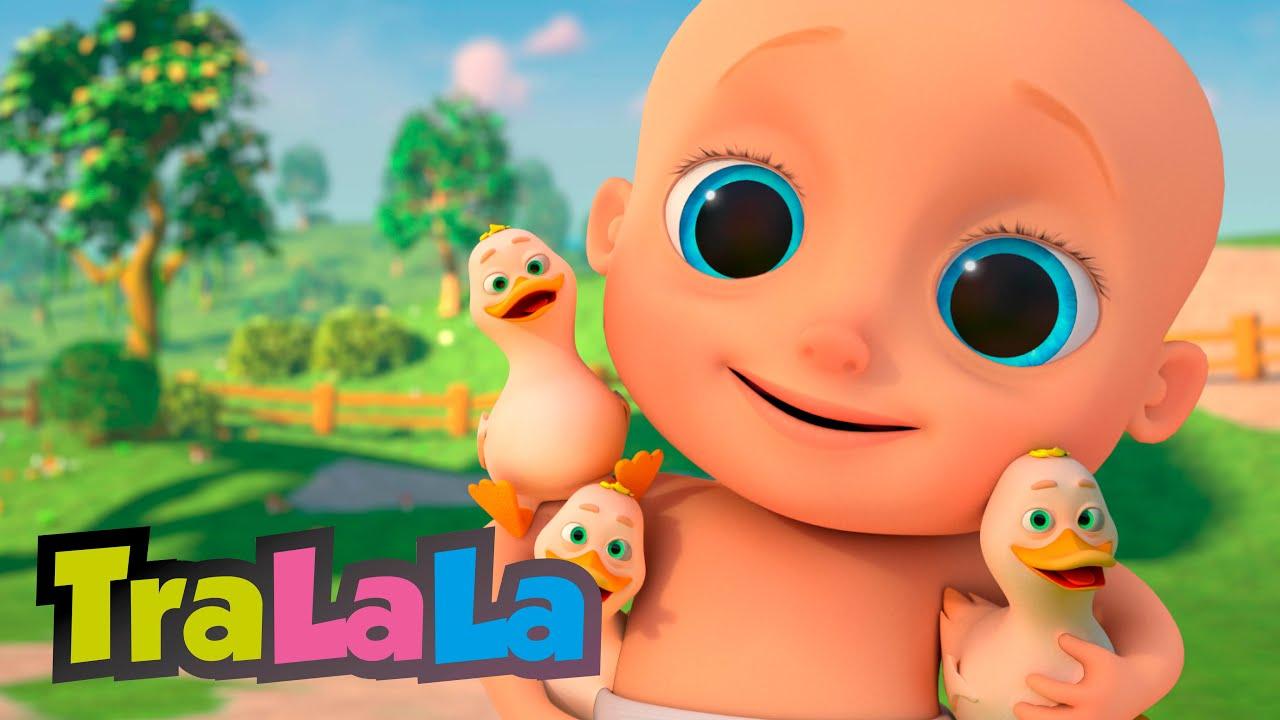 Bebe și rățuștele + alte cântece cu animale pentru copii mici de la TraLaLa