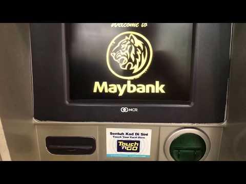 MAYBANK ATM - Pembayaran Melalui JomPay Menggunakan Mesin ATM Maybank