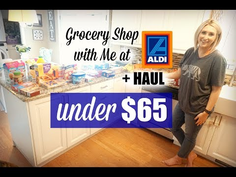 GROCERY SHOP WITH ME AT ALDI + HAUL | BUDGET FRIENDLY