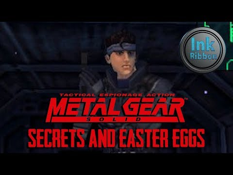 Top 10 Metal Gear Solid Secrets And Easter Eggs