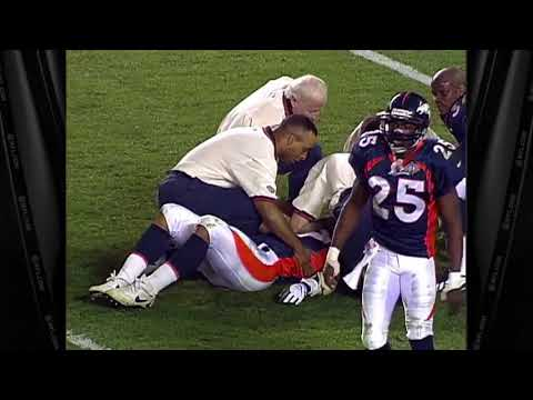 Super Bowl 32 - Steve Atwater HUGE HIT Knocks out 2 Players and Himself
