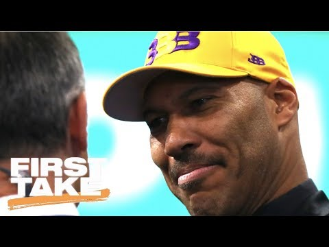 First Take Debates The Media's Role In LaVar Ball | First Take | ESPN