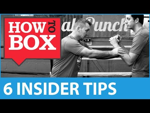 6 Insider Tips for Learning Boxing - How to Box (Quick Videos)