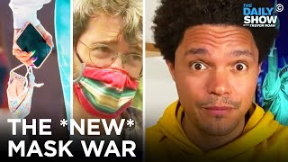 CDC Says Vaccinated People Can Stop Wearing Masks \u0026 Why the Honor System Won't Work | The Daily Show