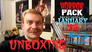 HORROR PACK JANUARY 2018 BLU RAY UNBOXING/UV CONTEST