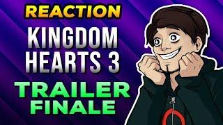 Kingdom Hearts 3 - TRAILER FINALE - 🔴REACTION