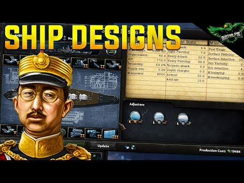 HOI4 Ship Design Templates (Hearts of Iron 4 MTG Expansion Tutorial)