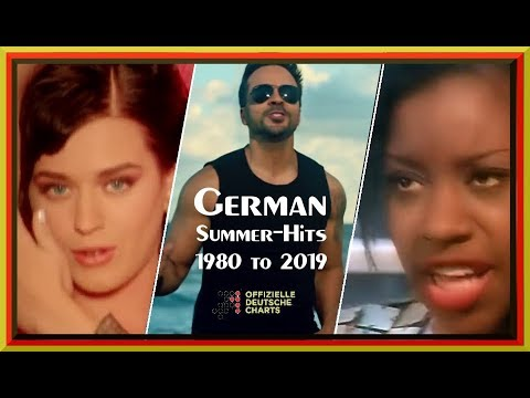 Chrizly-Charts presents: German Summer-Hits 1980 to 2019