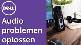 Audio problemen oplossen in Windows 10