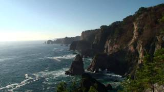 リアス式海岸 北山崎(HD)
