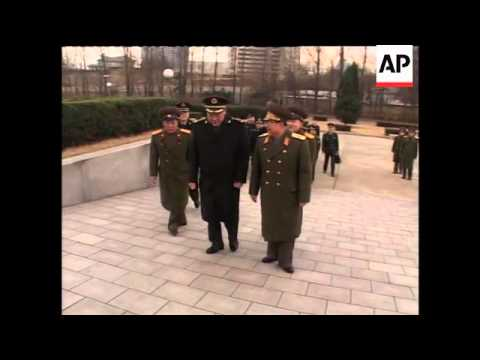 Chinese defence minister arrives in North Korea for three day visit