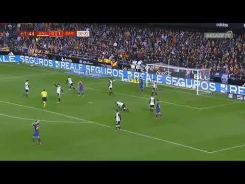 Clear handball missed by referee...FC BARCELONA VS VALENCIA (Copa Del Rey 9/2/18) thumbnail