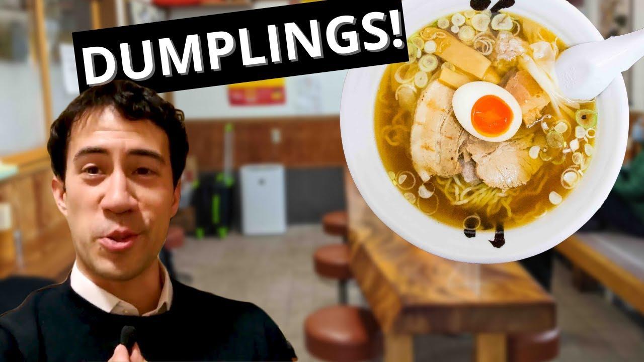 Japan's Dumpling Ramen City [Sakata]