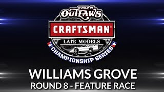 World of Outlaws Craftsman Late Model Championship // Round 8 - Williams Grove Main Event
