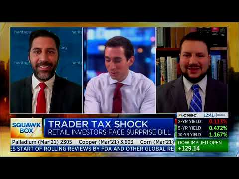 Don't Use Gamestop as an Excuse to Raise Taxes | Joel Griffith on CNBC