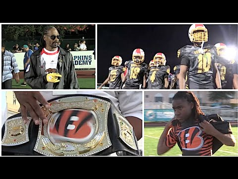PPO Bengals ( Pembroke Pines , FL) vs Snoop Dogg Steelers (CA) 12U National Championship