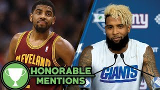 Kyrie Irving's Ex-Girlfriend Kicks Fan Out for Saying His Name, Odell Blasts Media at Minicamp -HM