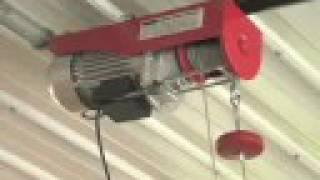 800-lb Electric Cable Hoist