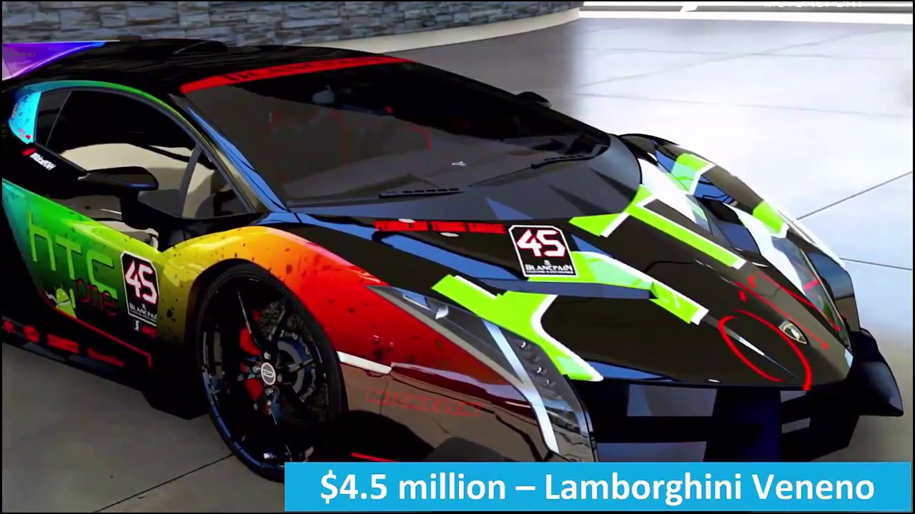 Top 10 Most Expensive Luxury Cars In The World In 2019: Top 10 Most Expensive Cars In The World 2019
