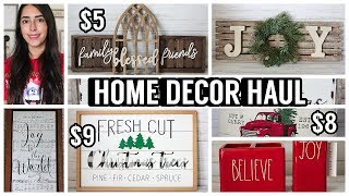 $15 OR LESS HOME DECOR HAUL HOBBY LOBBY/ROSS/HOMEGOODS