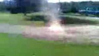 explosion with axe body spray