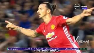 TimeOut - اهداف زلاتان إبراهيموفيتش مع ناديه الجديد مانشستر يونايتد