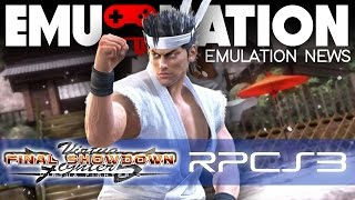 EMU-NATION: VIRTUA FIGHTER 5 SHOWDOWN on PC with RPCS3 Emulator