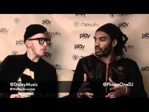We Play Music Live - Interview with Daley - Deja Vu fm