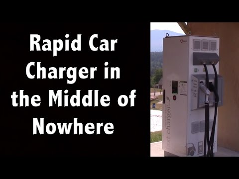 Rapid Car Charger in the Middle of Nowhere? - New Hampshire Tourism