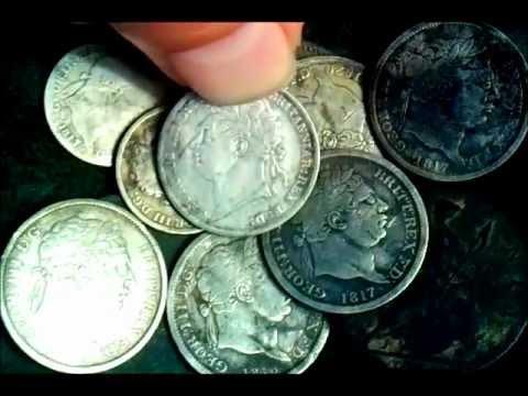 11 coin georgian purse hoard