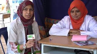 Dr. Samana Hussain @ Free Health Checkup Camp at Sulibele , 27/3/2018