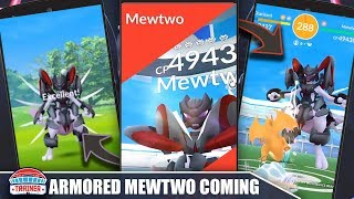 Will ARMORED MEWTWO Be The ULTIMATE Raid Boss? ARMORED MEWTWO COMING, STATS & MOVES? | POKEMON GO