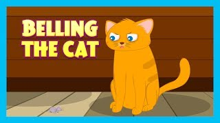BELLING THE CAT   Kids Hut Stories  Cat Story  Stories for Kids - Bedtime Stories
