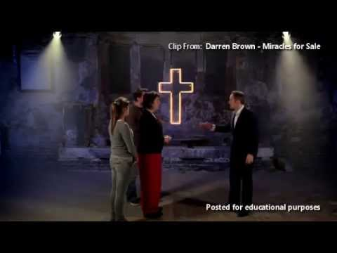Derren Brown Exposing Faith Healing Scams