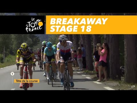 54 riders in the breakaway group - Stage 18 - Tour de France 2017