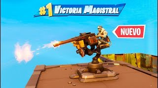 INCREIBLE **NUEVA** TORRETA MONTADA! FORTNITE: Battle Royale