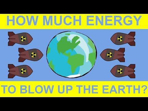 Los únicos métodos que podrían destruir la Tierra