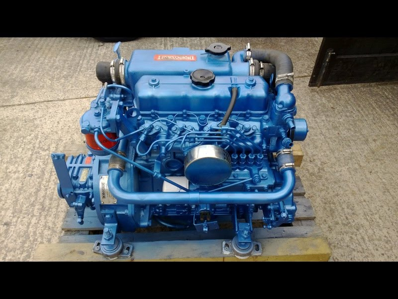 For Sale: Thornycroft T80 (Mitsubishi) 35hp Marine Diesel Engine Package -  GBP 1,995