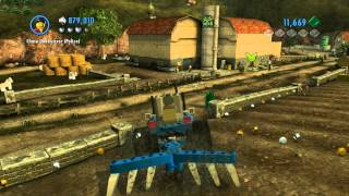 LEGO City Undercover - Chap 9: Chase McCain Farmer Unlocked, Tractor, Oil Cans, Key 1080 HD Wii U