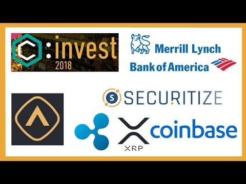 Big News at ConsensusInvest Tomorrow? - Crypto ETP - BOA Merrill Lynch Crypto - Securitize Xpring