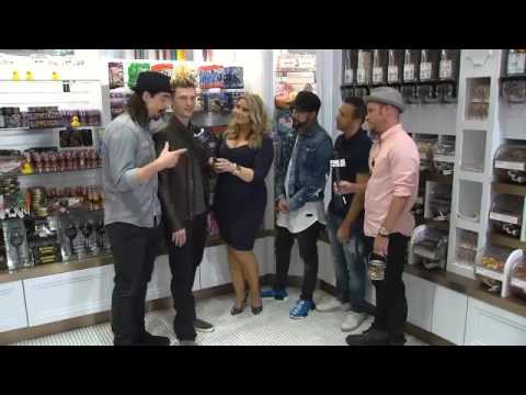 Backstreet Boys at Sugar Factory Fox 5 Full Interview