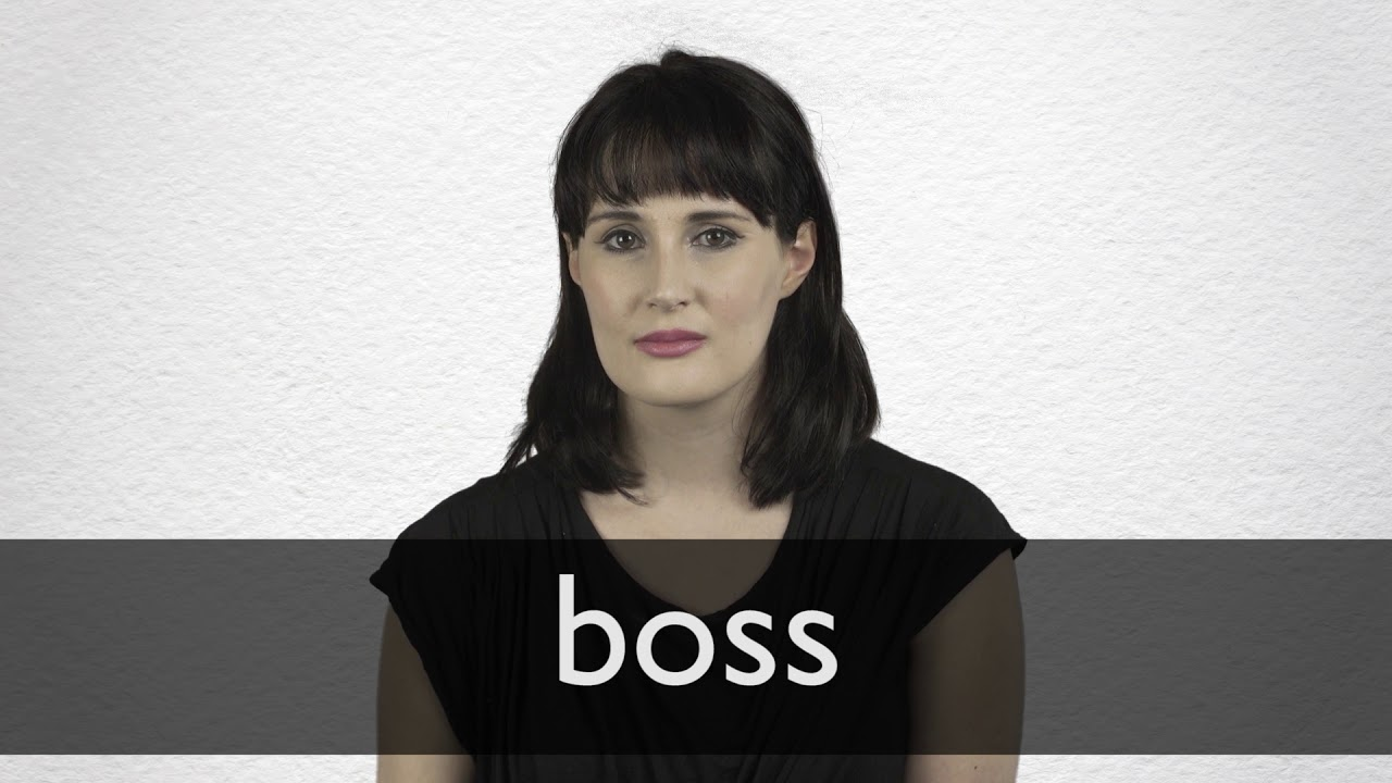 Boss definition and meaning | Collins English Dictionary