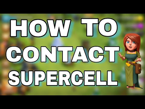 HOW TO CONTACT SUPPERCELL/CLASH OF CLANS | WHERE IS CONTACT US OPTION IN COC EXPLAINED IN HINDI