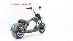 Cafecruiser - sähköskootteri - sähkömopo -sähköpyörä - sähkömoottoripyörä  -2KW sähköpyörä -